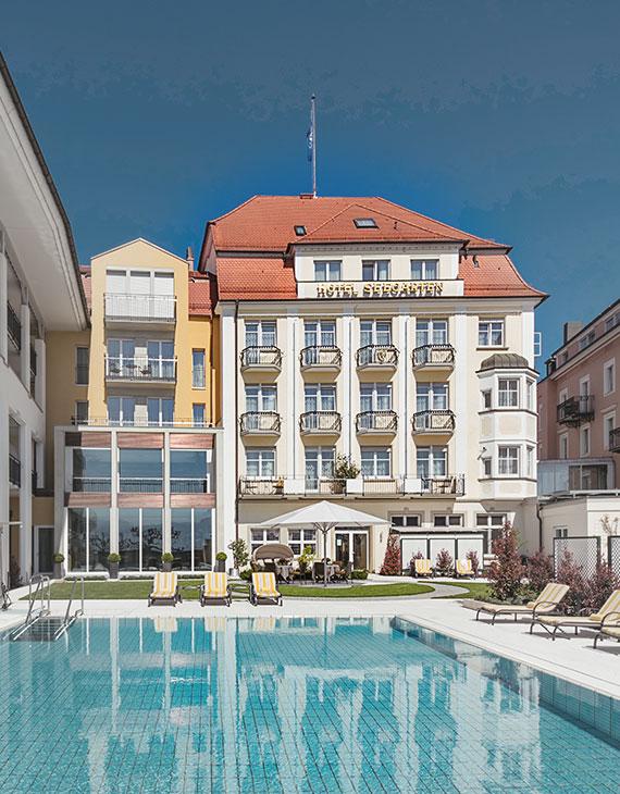 Hotel Reutemann Hotel Seegarten Lindau Bodensee